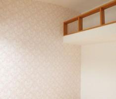 子供部屋の壁を飾るプリントクロス