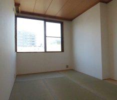 天井の板貼りを残した和室