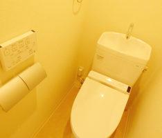 トイレ空間はコンパクト