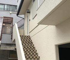 階段のタイルも生きてきます